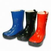 Childrens Rain Boots with Rubber Sole and Upper images