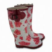 Flower Womens Rain Boots images