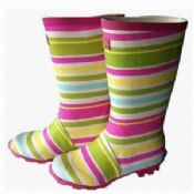 Rainbown Rubber Womens Rain Boots images