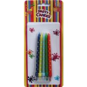 Colorful Dots Birthday Candles images