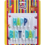 Letter Birthday Candle Gift images
