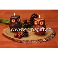 Halloween candle at animal shapes