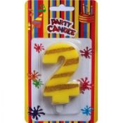Birthday Number Candles 2 images