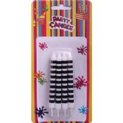 Black and White Birthday Party Candles images