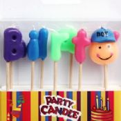 Letter Candles for Boys images
