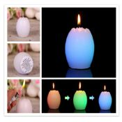 Easter colorful egg candles images