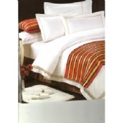 Mercerization Encryption Luxury Hotel White Bed Linen Duvet Cover 60s x 80s images