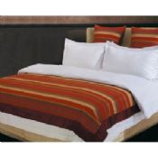 400TC Jacquard Fabric Luxury Hotel Bed Linen Red images