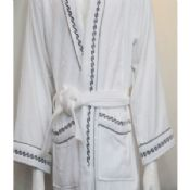 Summer Luxury Hotel Bathrobes Cotton Velvet images