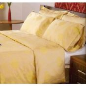 Yellow Bed Sheet Luxury Hotel Bed Linen images