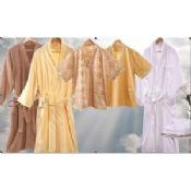 Yellow Luxury Hotel Bathrobes Customized for Women images