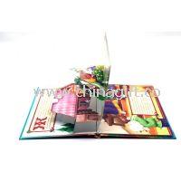 Anak-anak 3D Pop Up buku Percetakan mengikat sempurna