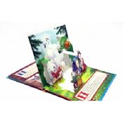 Coloring 3D Pop Up Book Printing Story Book images