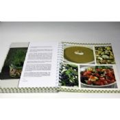Customized Professional CookBook Printing A4 UV Coating , Eco-friendly images