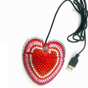 Heart diamond mouse images