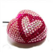 Rhinestone heart mouse images
