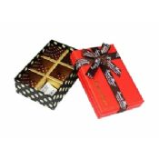 Chocolate Recycled Cardboard Gift Boxes of Trays Insert images