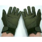 Mens Outdoor Airsoft / Handgun Shooting Gloves Olive For Combat images