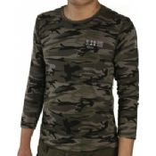 Military Dark Camouflage T-Shirt images