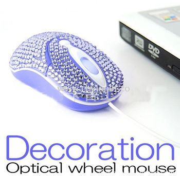 Decoration optical wheel mouse