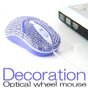 Decoration optical wheel mouse images