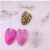Heart mouse with rhinestone images