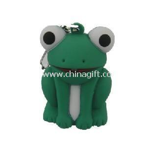Frog LED Keyring Light