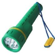 7 LED Plastic Torch with Dry Battery images