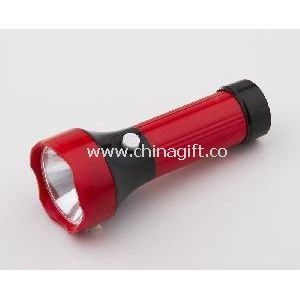 Torch with Dry Battery 0.5W LED Plastic Torch