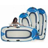 Cool PVC Inflatable Boat , Plastic Ocean Sport Boats