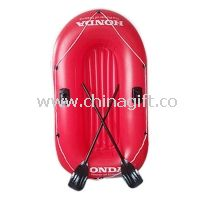 Customized Style Sport PVC Inflatable Boat For Children With 2 Oars