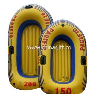 Environmental Friendly PVC Inflatable Boats Orange