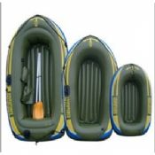 0.55mm PVC Inflatable Boat Army Green images