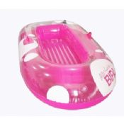 6P Free 0.25mm PVC Inflatable Boat Pink For Kids Sporting images