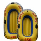 Environmental Friendly PVC Inflatable Boats Orange images
