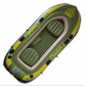Fishing Rigid PVC Inflatable Boat With 2 Valves , 3P Free images