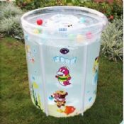 Personalized Summer Baby Inflatable Swimming Pools With Double Bottom images