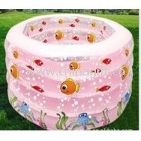 Multi color 0.28mm PVC Inflatable Swimming Pools Round For Activity