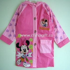 Children PVC Raincoat Mickey Mouse Printing Eco-friendly