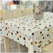 Custom Printed PVC Table Cloth images