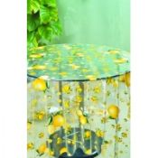 Eco-friendly PVC Dining Table Cloth With Fruit Design images