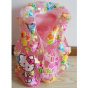 Hello Kitty Durable Inflatable Swimming Rings For Kids Pink images