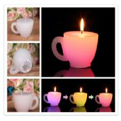 Tea cup candles images