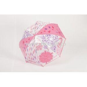 23 Pink Dome Kids Parasol Umbrellas
