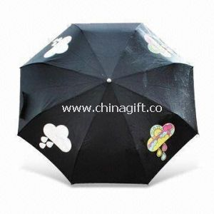 Color Changing Umbrella with Metal Frame