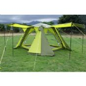 Auto frame tent images