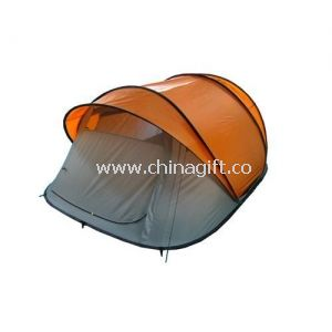 Pop up tunnel tent