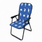 Folding Chair with Hawaiian Print images