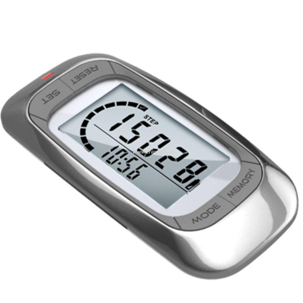 Belt clip 3d sensor calories pedometer