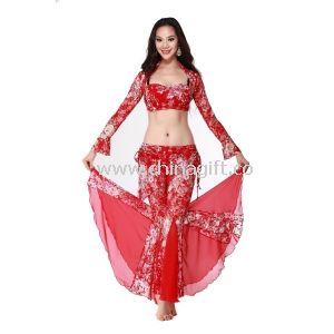 0cb5a539 Kostium praktyki czerwony taniec brzucha